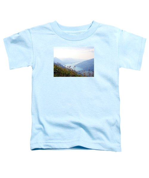 Alpine Flora On Top Of Schynige Platte Toddler T-Shirt