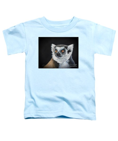 Amber Eyes......lemur Toddler T-Shirt