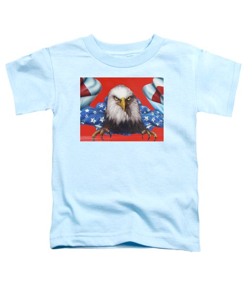 America Patriot  Toddler T-Shirt