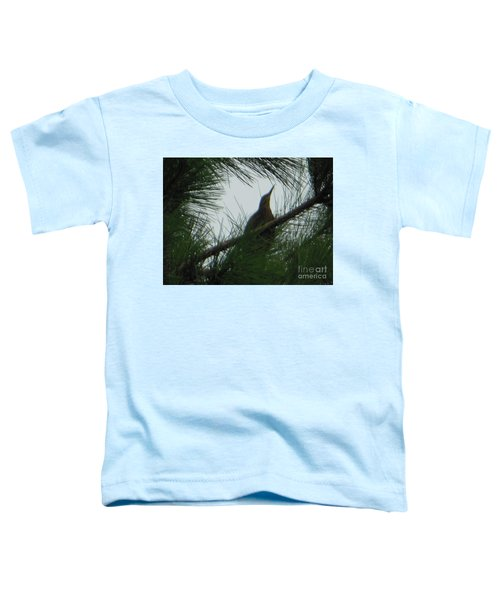 American Bitten Bird Toddler T-Shirt