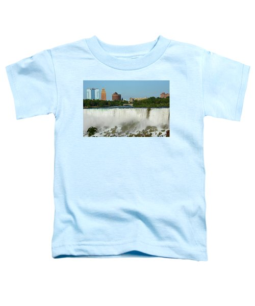American Falls With Bridal Veil Toddler T-Shirt