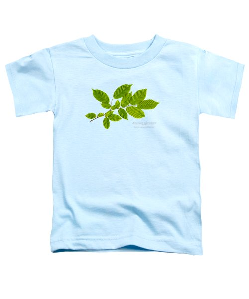 Toddler T-Shirt featuring the photograph American Hornbeam by Christina Rollo