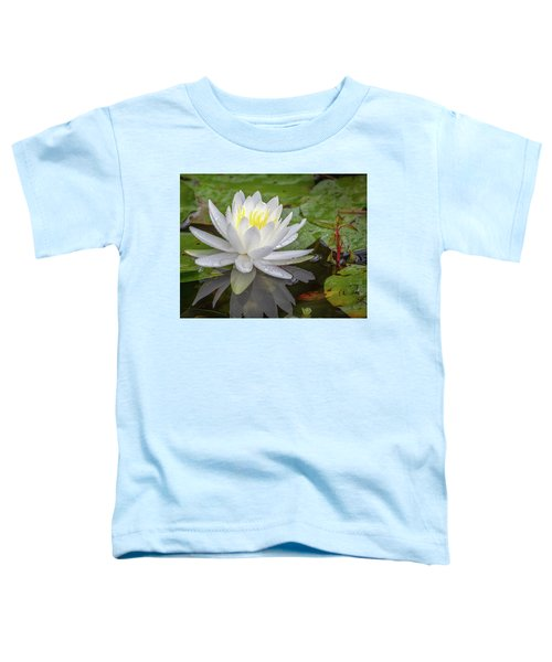 American White Water Lily Toddler T-Shirt