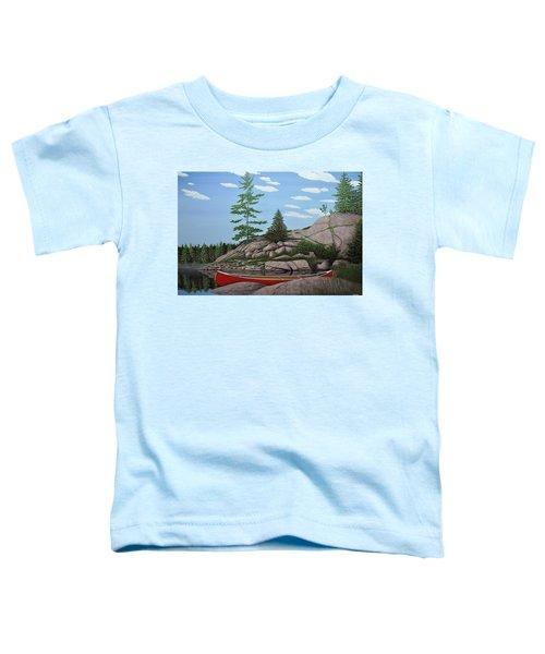 Among The Rocks II Toddler T-Shirt