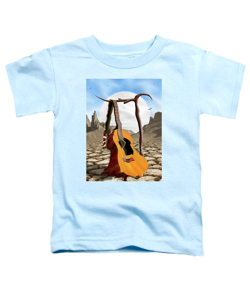An Acoustic Nightmare Toddler T-Shirt by Mike McGlothlen