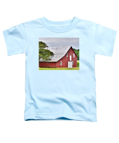 An Old Red Barn Toddler T-Shirt
