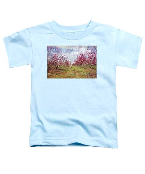 An Orchard In Blossom In The Golan Heights Toddler T-Shirt