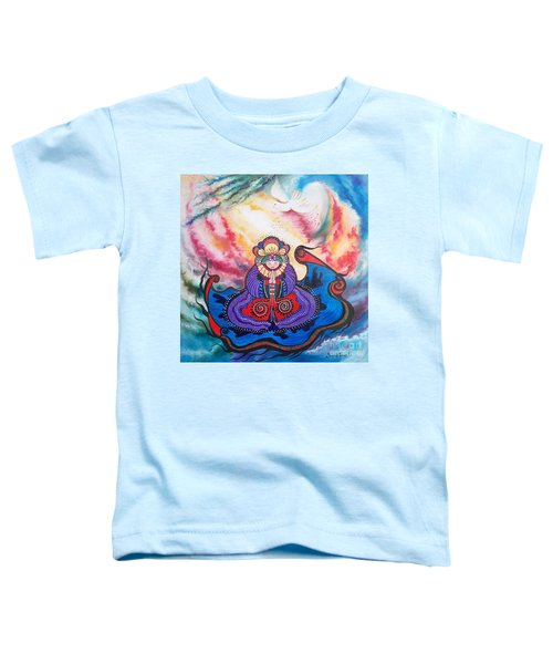 Flygende Lammet      And We Pray Toddler T-Shirt