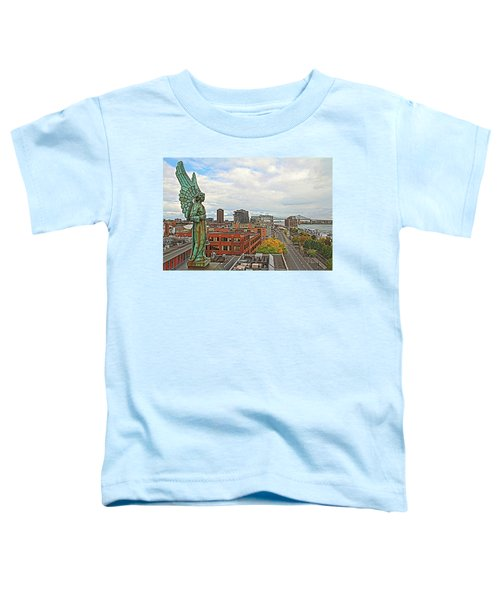 Angel Of Old Montreal Toddler T-Shirt