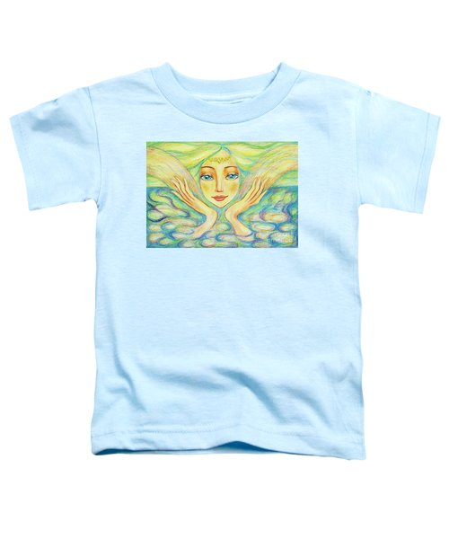 Angel Of Serenity Toddler T-Shirt