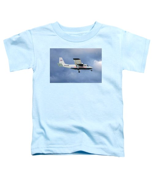 Anguilla Air Services Britten-norman Bn-2a-26 Islander 117 Toddler T-Shirt