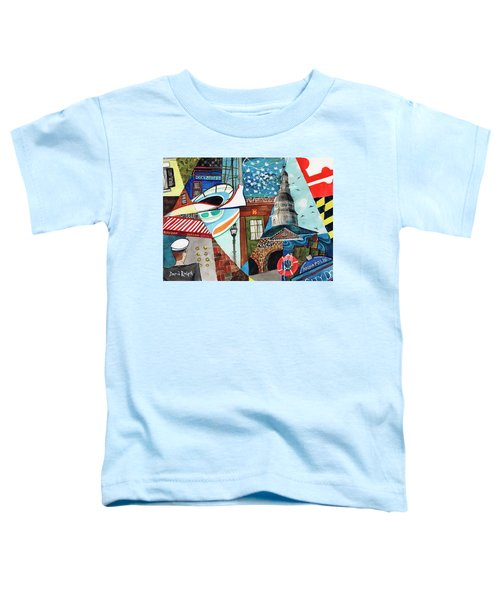 Annapolis Dock Dine Assemble Toddler T-Shirt