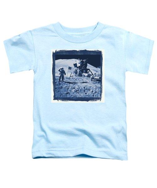 Apollo 15 Mission To The Moon - Nasa Toddler T-Shirt