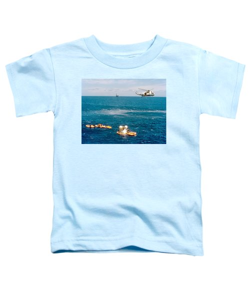 Apollo Command Module Splashdown Toddler T-Shirt