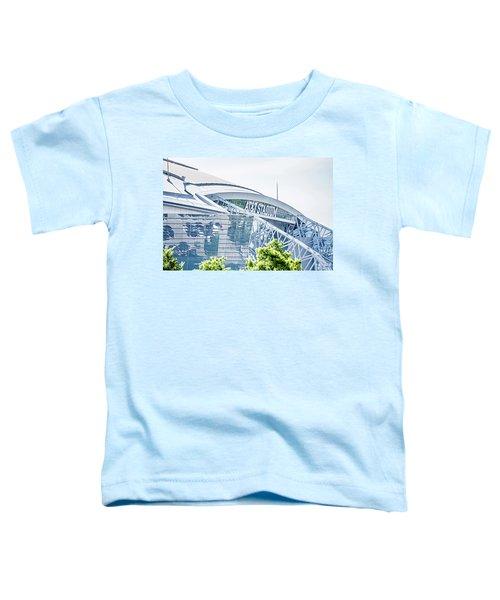 April 2017 Arlington Texas Att Nfl Cowboys Football Stadium  Toddler T-Shirt