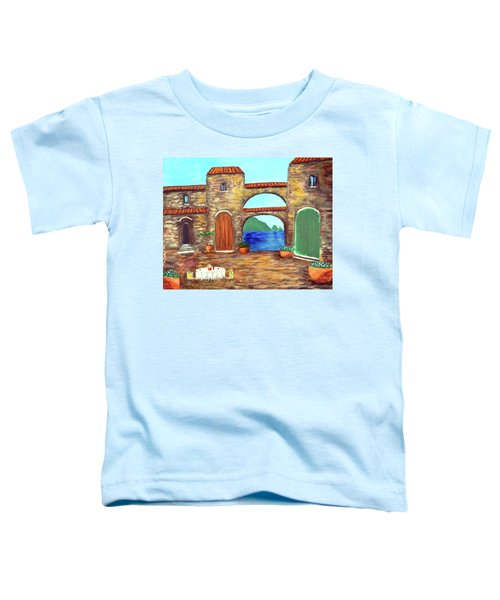 Arches Of Amalfi  Toddler T-Shirt