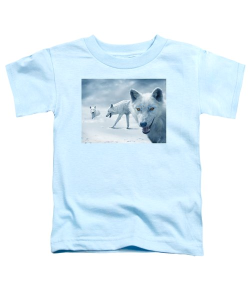Arctic Wolves Toddler T-Shirt