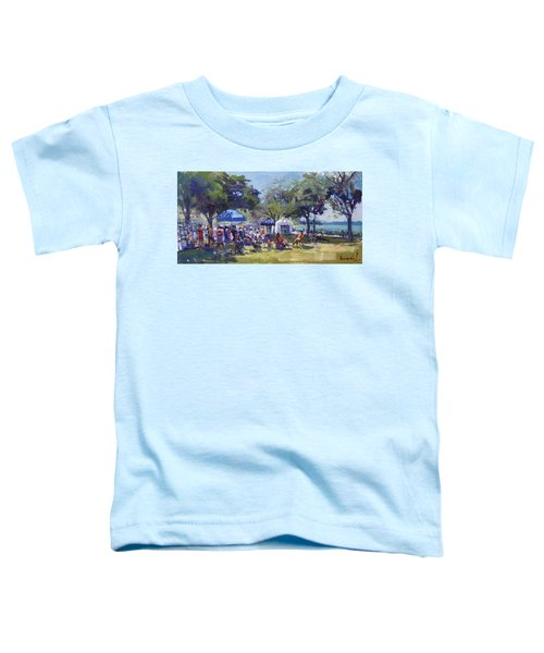 Art On The Riverwalk At Niawanda Park Toddler T-Shirt