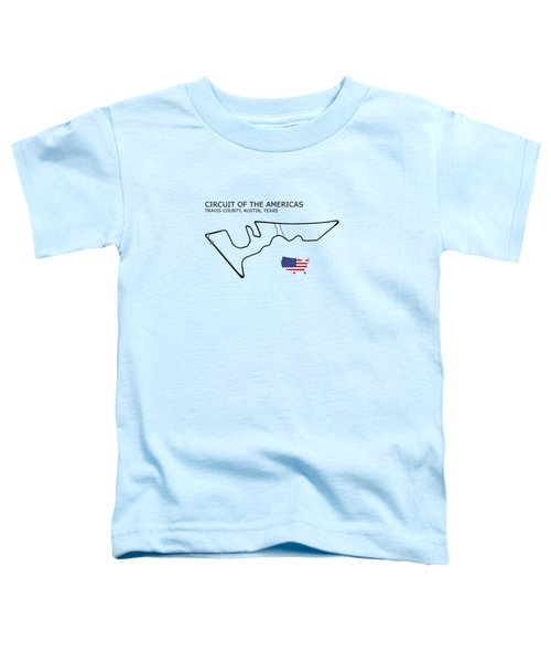 Circuit Of The Americas Toddler T-Shirt