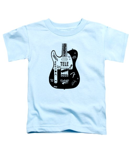 Fender Telecaster 52 Toddler T-Shirt by Mark Rogan