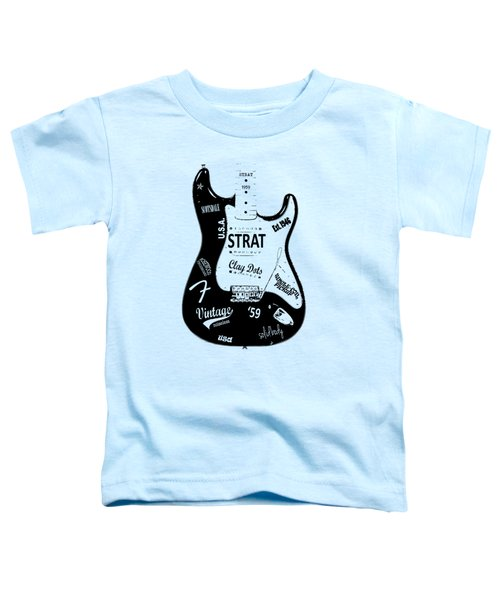Fender Stratocaster 59 Toddler T-Shirt by Mark Rogan
