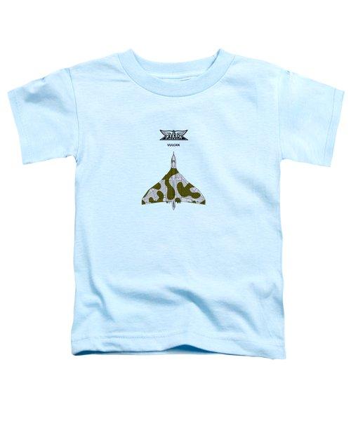 The Vulcan - White Toddler T-Shirt by Mark Rogan
