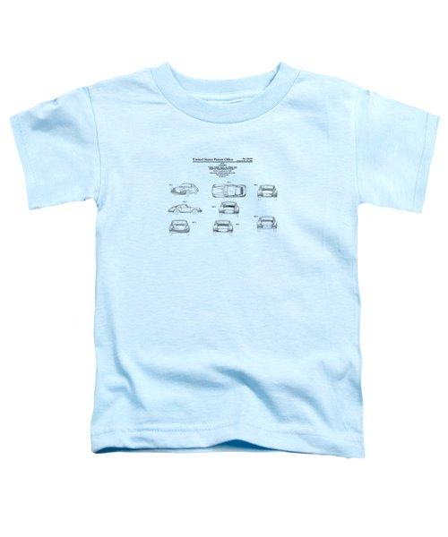 Porsche 911 Patent Toddler T-Shirt