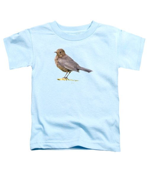 Young Blackbird  Toddler T-Shirt by Bamalam  Photography