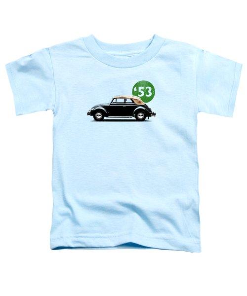 Beetle 53 Toddler T-Shirt by Mark Rogan