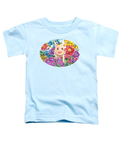 Penelope Toddler T-Shirt by Shelley Wallace Ylst