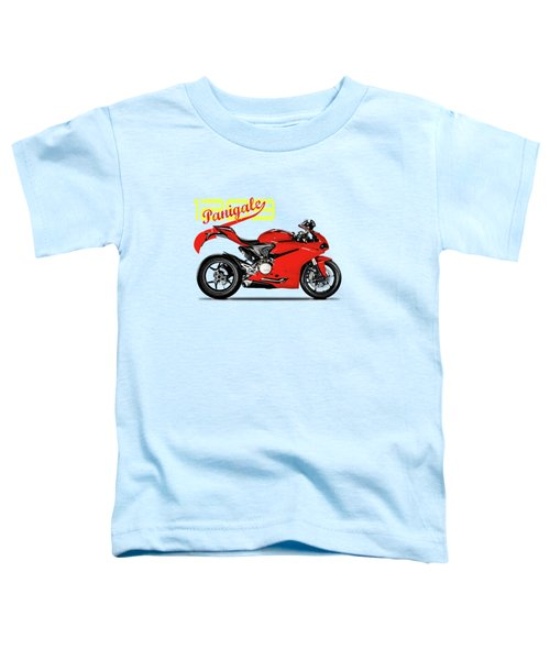 Ducati Panigale 1299 Toddler T-Shirt by Mark Rogan