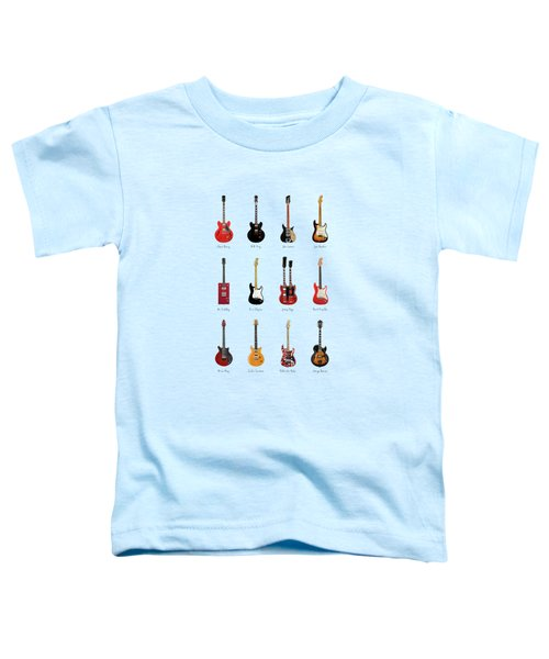 Guitar Icons No1 Toddler T-Shirt
