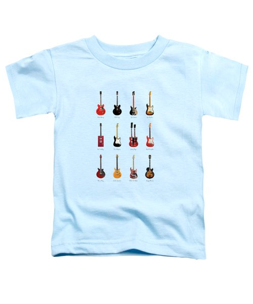 Guitar Icons No1 Toddler T-Shirt