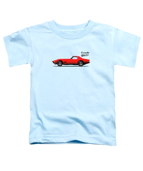 Corvette Stingray 1968 Toddler T-Shirt