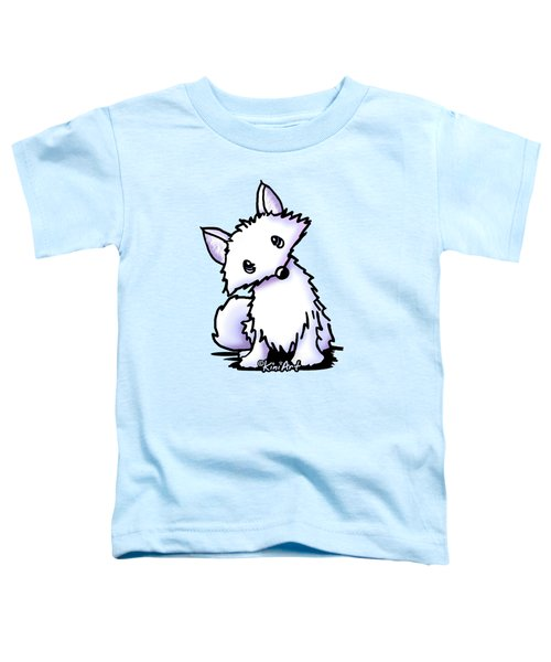 Arctic Fox Toddler T-Shirt