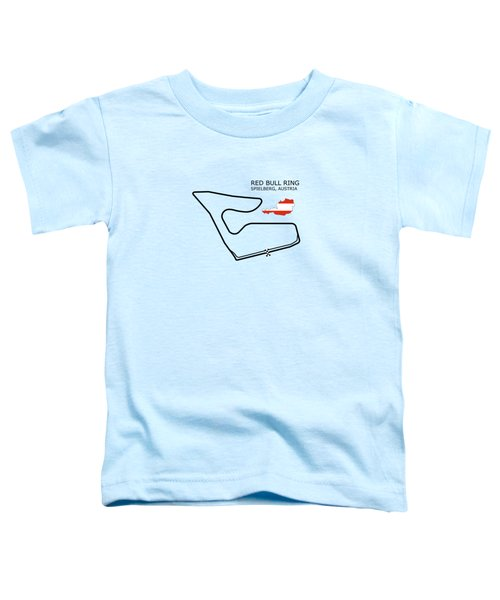The Red Bull Ring Toddler T-Shirt by Mark Rogan