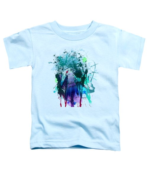 Victoria Crowned Pigeon Toddler T-Shirt by Clinton Caleb