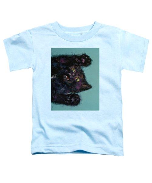 Ninja Kitten Toddler T-Shirt