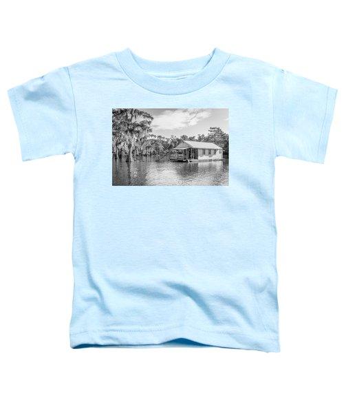 Atchafalaya Basin Fishing Camp Toddler T-Shirt