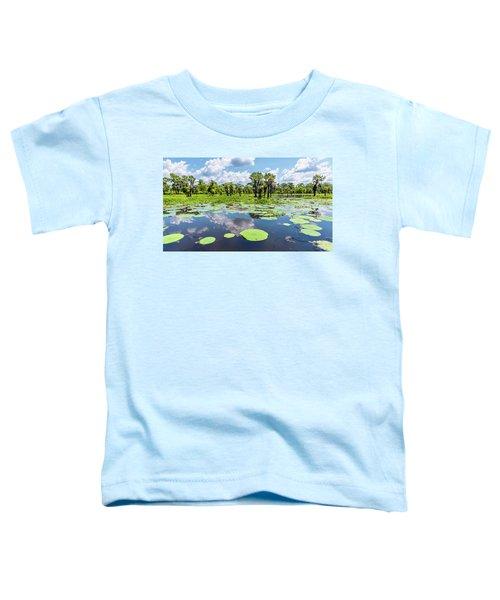 Atchaflaya Basin Reflection Pool Toddler T-Shirt
