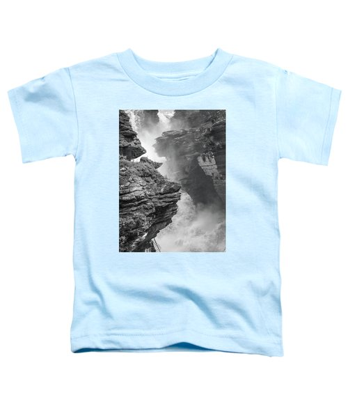 Athabasca Falls Toddler T-Shirt