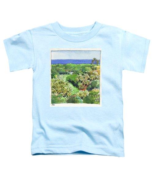 Atiu Lake View Toddler T-Shirt