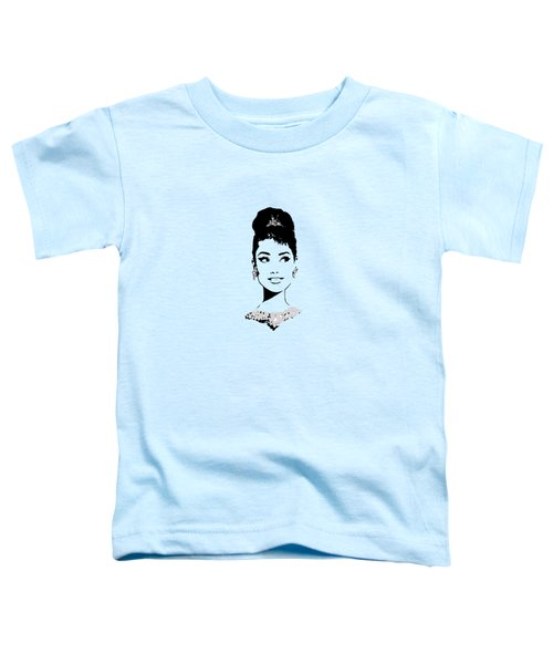 Audrey In Tiffany Blue Toddler T-Shirt