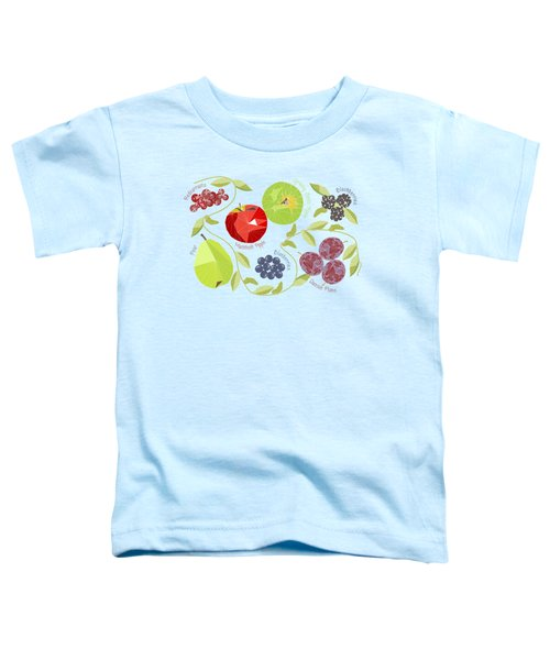 Autumn Fruit Geodesic Toddler T-Shirt