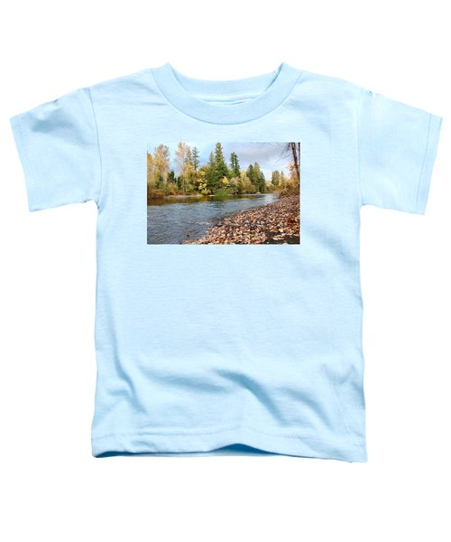 Autumn On The Molalla Toddler T-Shirt