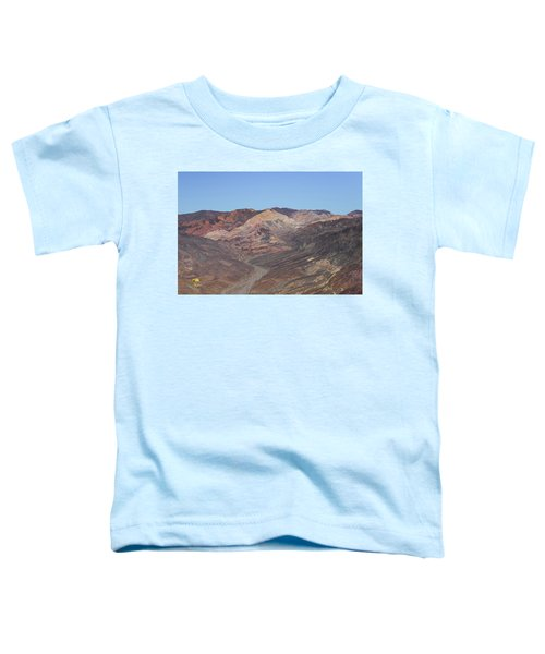 Toddler T-Shirt featuring the photograph Avawatz Mountain by Jim Thompson