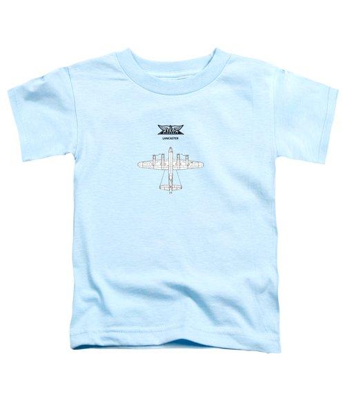 Avro Lancaster Toddler T-Shirt by Mark Rogan