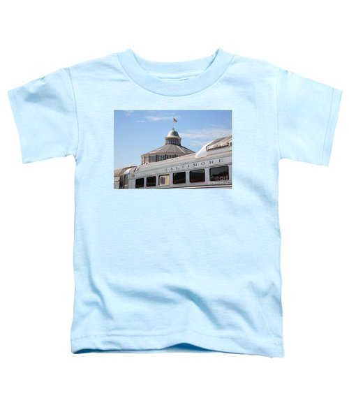 B And O Railroad Museum In Baltimore Maryland Toddler T-Shirt