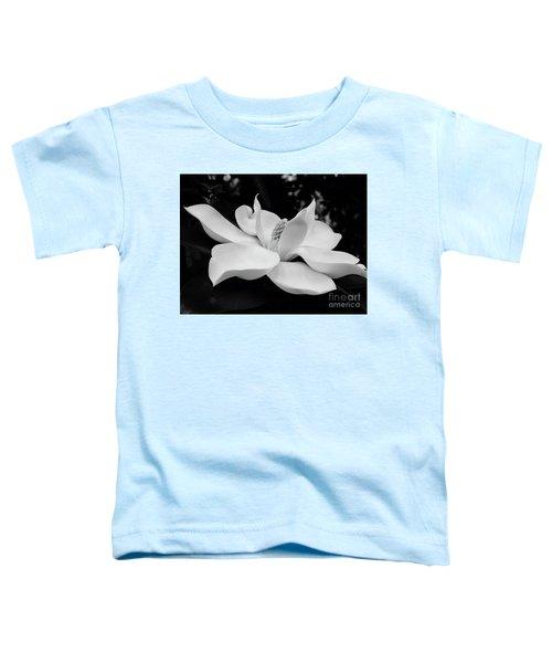 B W Magnolia Blossom Toddler T-Shirt