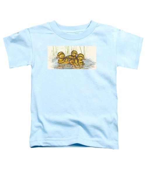 Baby Ducks For Ma Toddler T-Shirt